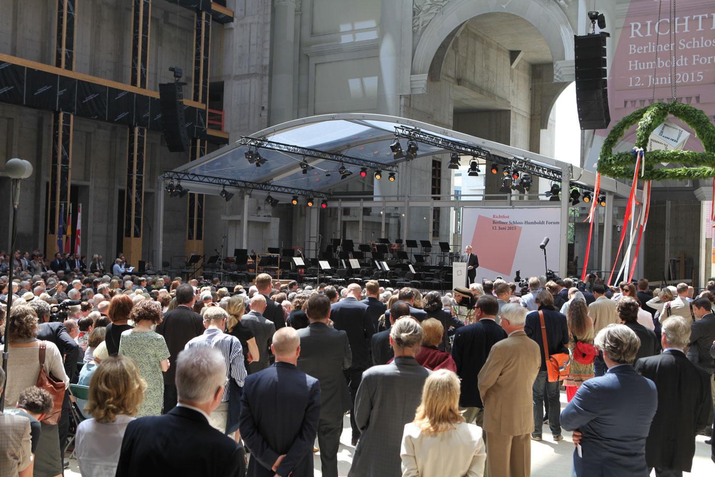 Richtfest Humboldtforum