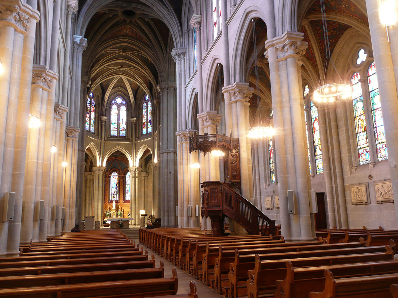 Foyer Home Saint Pierre Geneve : St pierre cathedral geneva kling freitag sound systems